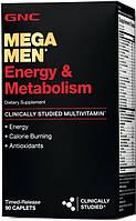 Витамины GNC Mega Men Energy & Metabolism 90 tab