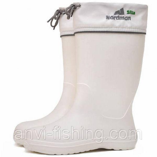 Жіночі чоботи Nordman Silla з хутром і манжетами - Білі (до -45ºС) Розмір 47/48 (56-58)