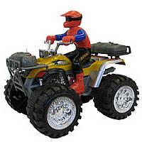 Детская игрушка квадроцикл с гонщиком IM117A