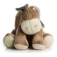Мягкая игрушка сидящий ослик  30 см IF86