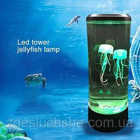 Нічник світлодіодний Акваріум з медузами SKL11-276451