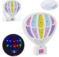 Светильник ночник детский воздушный шар