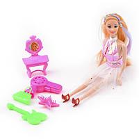 Кукла музыкант с гитарой и аксессуарами ID45D