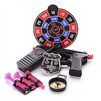 Игровой набор полицейский с пистолетом и рацией IM116B