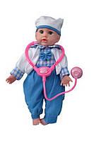 Кукла доктор со звуком ID41D