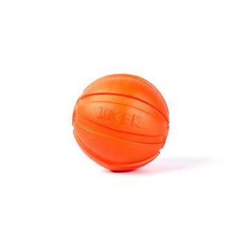 Мячик LIKER 5 для собак мелких пород оранжевый
