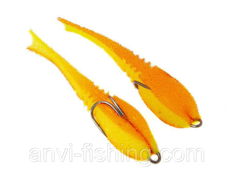 "Поролоновая рыбка-приманка ПрофМонтаж Dancing Fish 4"" (reverse tail) - PR705"
