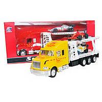Игрушечный грузовой автомобиль с машинками IM75B