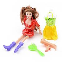 Игровой набор кукла c одеждой и обувью (Beauty girl) ID38B
