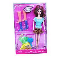Игровой набор кукла с одеждой и обувью (Beauty) ID36C