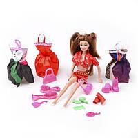 Игровой набор кукла  с аксессуарами и одеждой (Beauty girl) ID35B