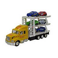Игрушечный грузовой автомобиль для перевозки машин IM79A