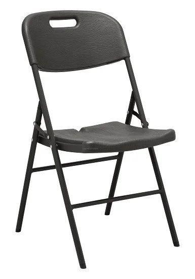 Складной стул серый BST 590387