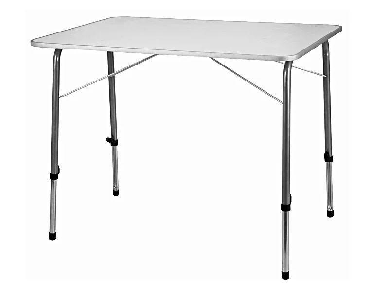 Стол портативный белый 120x60x70 см. BST 590407