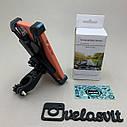 Пластиковий тримач телефону на кермо велосипеда, фото 2