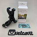 Пластиковый держатель телефона на руль велосипед, фото 5