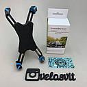 Пластиковий тримач телефону на кермо велосипеда, фото 3