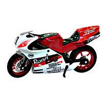 Игрушечная модель спортивного мотоцикла (металл) IM26