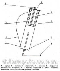 Термопенал для електродів з підігрівом 220В