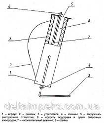 Термопенал для электродов с подогревом 220В