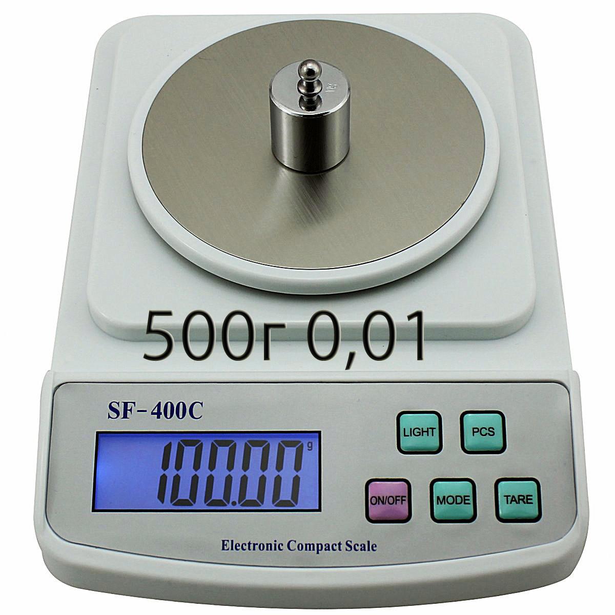 Весы электронные серии SF-400C (500г/0,01г)