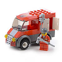 Детский конструктор (Пожарные) 85 блоков IM513