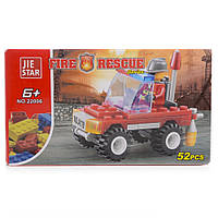 Детский конструктор (Пожарные) 52 блока IM506