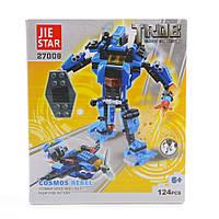 Детский конструктор (Роботы) 124 блока IM505