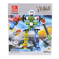 Детский конструктор (Роботы) 127 блоков IM503