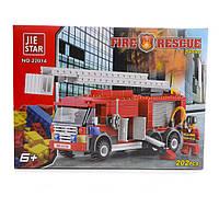 Детский конструктор (Пожарные) 202 блока IM535