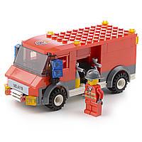 Детский конструктор (Пожарные) 144 блока IM528
