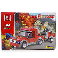 Детский конструктор (Пожарные) 157 блоков IM526