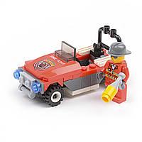 Детский конструктор (Пожарные) 53 блока IM493