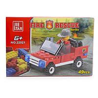 Детский конструктор (Пожарные) 49 блоков IM492