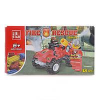 Детский конструктор (Пожарные) 38 блоков IM476