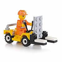Детский конструктор (Стройка) 37 блоков IM475