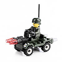 Детский конструктор (Армия) 36 блоков IM467