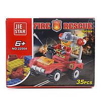 Детский конструктор (Пожарные) 35 блоков IM465