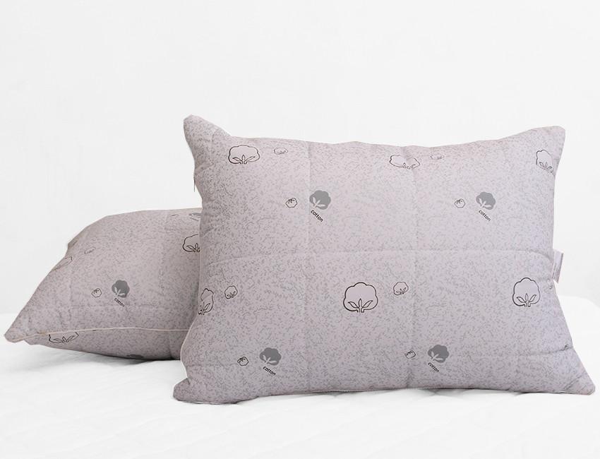 ТМ TAG Подушка лебяжий пух Cotton 50х70 (стеганная)