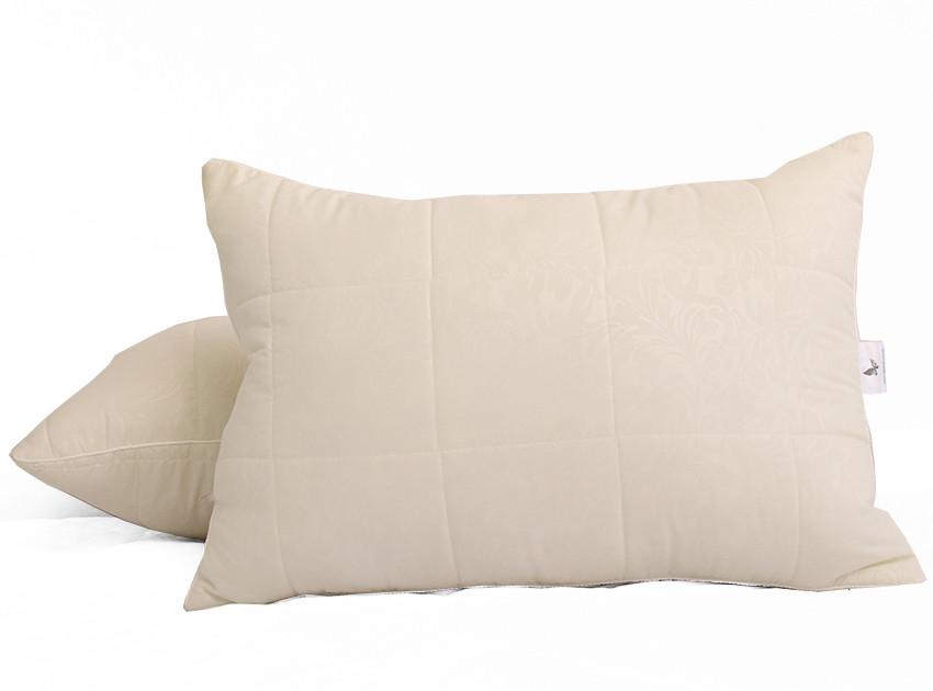ТМ TAG Подушка лебяжий пух Venzel 50х70 (стеганная)