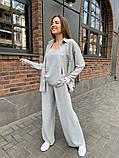 Женский прогулочный костюм трока: брюки, майка, рубашка 46-463, фото 10