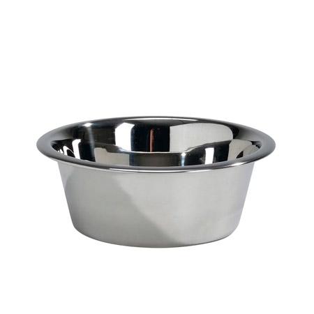 Миска для собак металлическая 3л d26см 221700