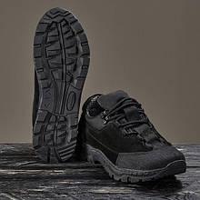 Кросівки військові на мембрані DOZOR black (Україна)