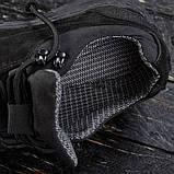 Кросівки військові на мембрані DOZOR black (Україна), фото 4