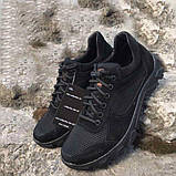 Тактичні Кросівки Літні ОСА чорні сітка/замш, фото 3
