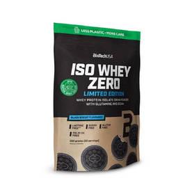 Протеїн BioTech Iso Whey Zero, 500 грам Чорний бісквіт