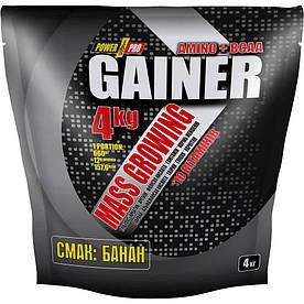 Гейнер Power Pro Gainer, 4 кг Банан