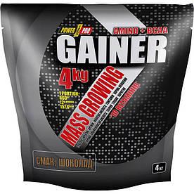 Гейнер Power Pro Gainer, 4 кг Шоколад