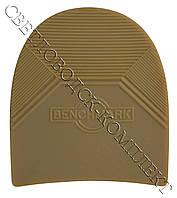 Набойка резиновая мужская BENCHMARK, т. 6.6 мм, р. средний, цв. бежевый