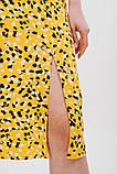 Жіноче плаття міді з розрізом, фото 3